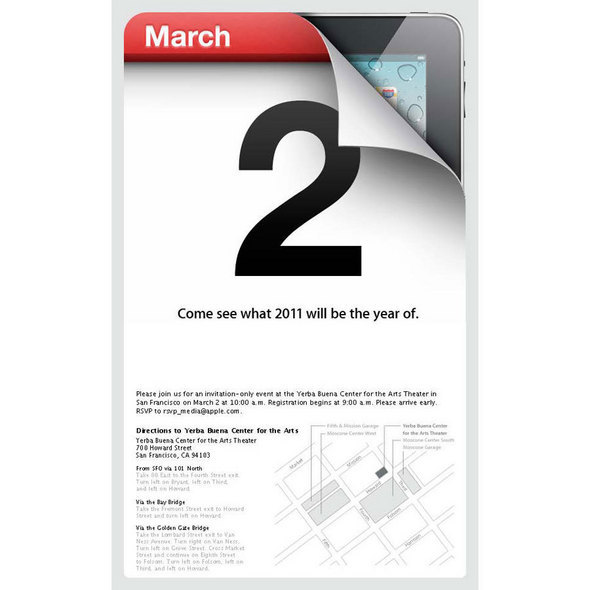 Apple's Coveted iPad 2 Invite