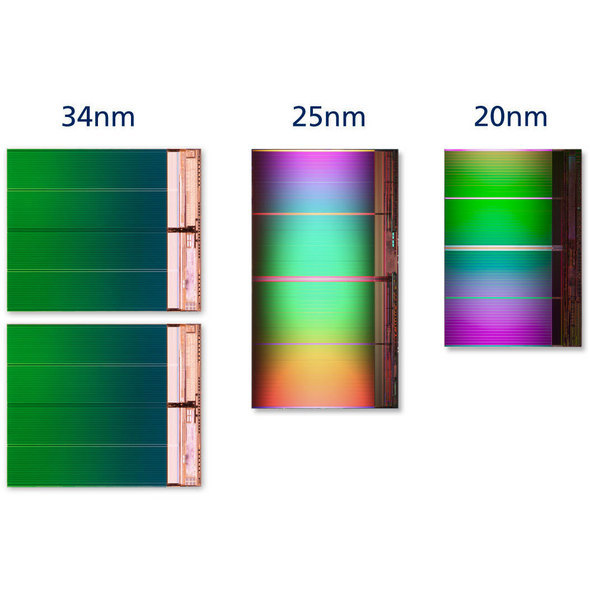 20nm Flash Memory