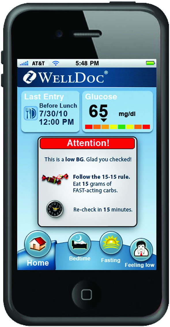 WellDoc's DiabetesManager