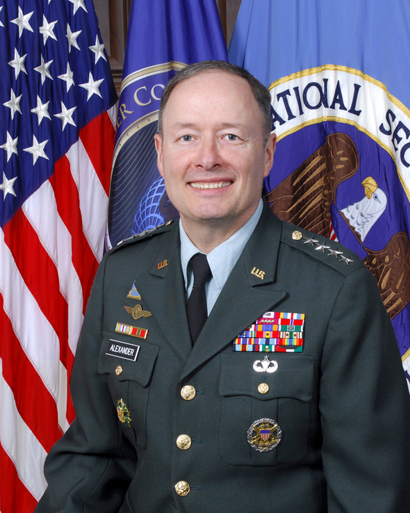Gen. Keith Alexander, Director, NSA, and Commander, U.S. Cyber Command