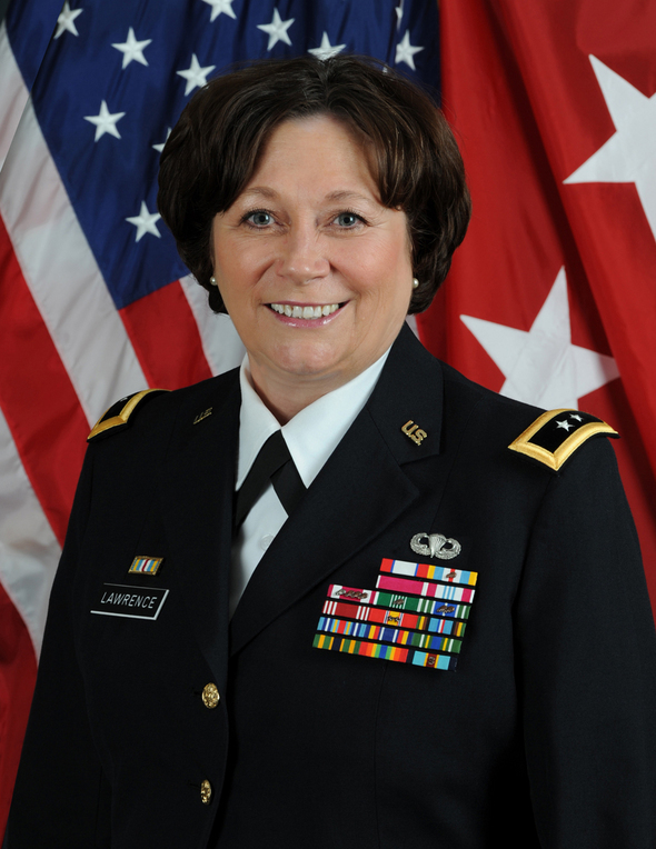 Lt. Gen. Susan Lawrence, CIO, Army