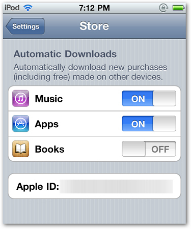 Apple iCloud Purchasing First Look
