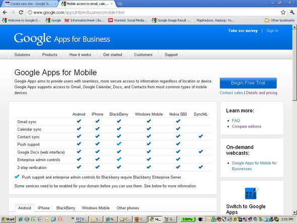 6. Mobility: Advantage Google