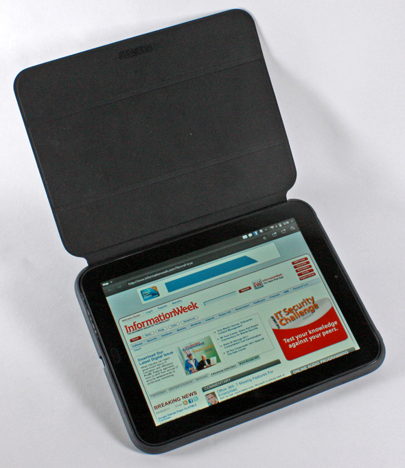HP TouchPad Tablet: Visual Tour