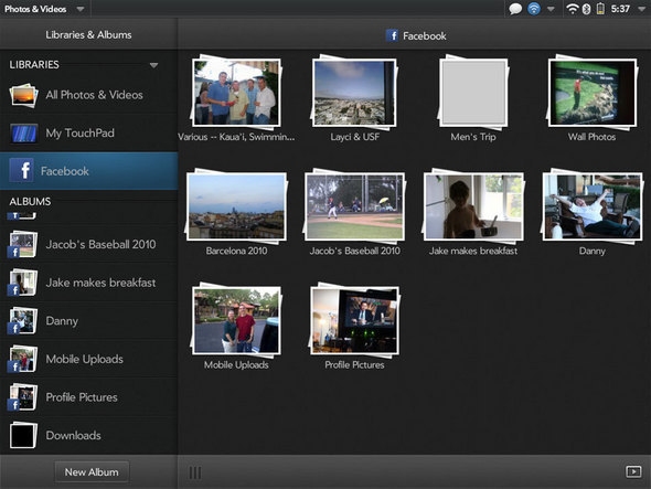 WebOS Synergy Extended To Photos