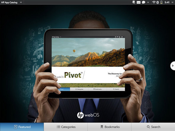 HP's App Catalog: Pivot
