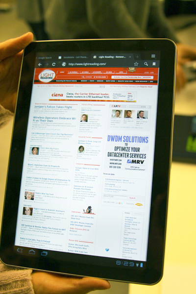 Lenovo Takes On 7 Rivals: Tablet Faceoff