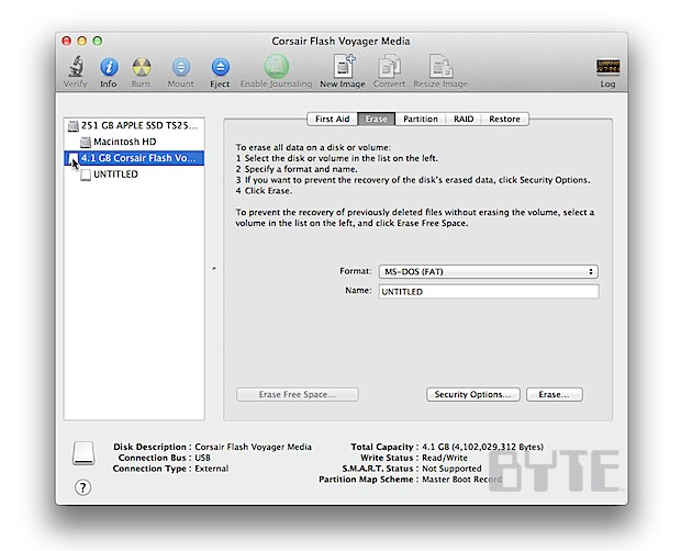 How To Encrypt External Drives in OS X Lion - InformationWeek