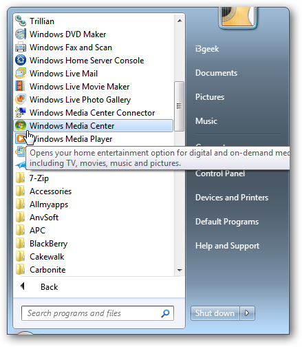 How To Set Up Windows 7 Media Center For Best TV Watching