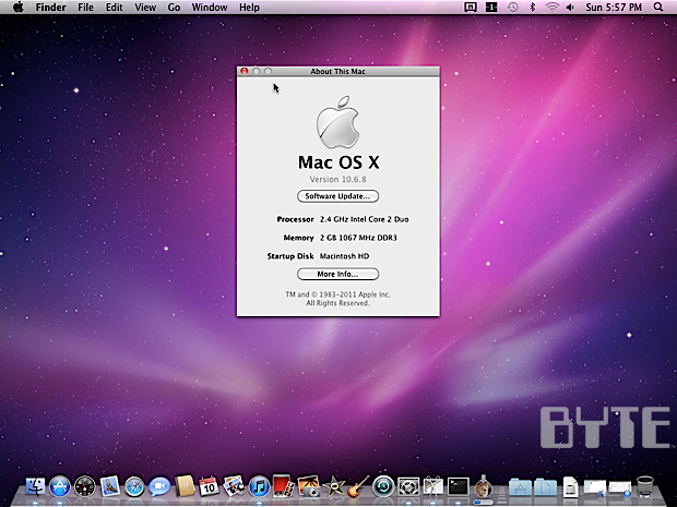 software mac os x 10.6  google