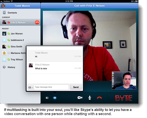 Skype For iPad: Avoid FaceTime's One-To-One Limitation