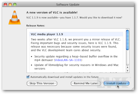 Make VLC Install Updates Automatically in OS X - InformationWeek