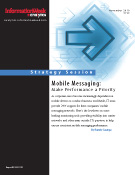 Strategy: Mobile Messaging Performance