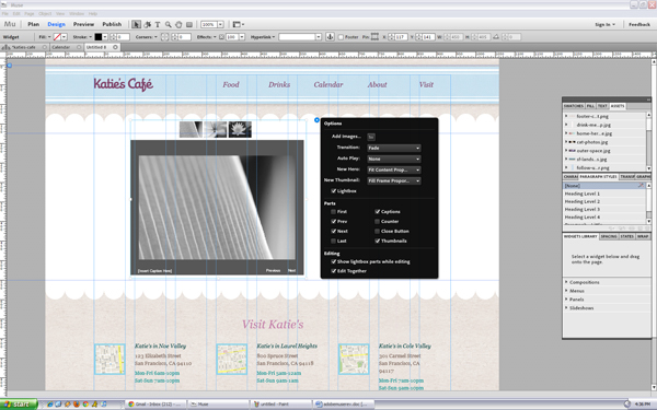 Adobe Muse: Web Authoring For Designers