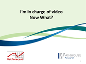 Slideshow: Supporting Video on Your Network
