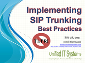SIP Trunk Security, Cost Optimization and Quality (Corrected)